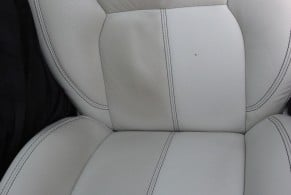 After leather restoration in Port Macquarie